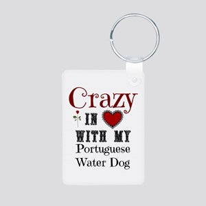 Portugese Water Dog Keychains