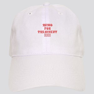 Rubio for President 2016-Pre red 550 Baseball Cap