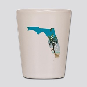 Florida Home Palm Tree Beach Shot Glass