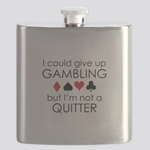 I Could Give Up Gambling Flask