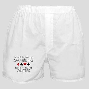I Could Give Up Gambling Boxer Shorts