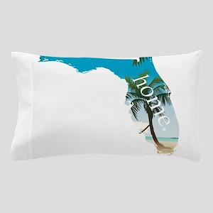 Florida Home Palm Tree Beach Pillow Case