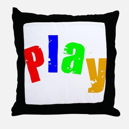 Scott Designs Play Throw Pillow