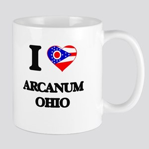 I love Arcanum Ohio Mugs