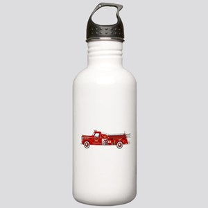 Vintage red fire truck Stainless Water Bottle 1.0L