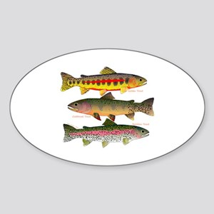 3 Western Trout Sticker