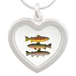 3 Western Trout Necklaces