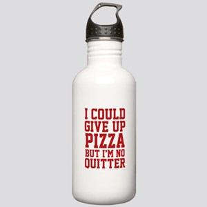 I Could Give Up Pizza Stainless Water Bottle 1.0L