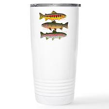 3 Western Trout Travel Mug