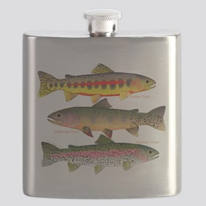 3 Western Trout Flask