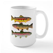 3 Western Trout Mugs