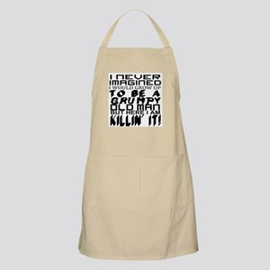 NEVER IMAGINED: OLD MAN Light Apron