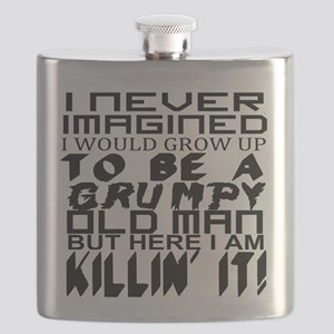 NEVER IMAGINED: OLD MAN Flask