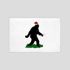 Christmas Squatchin 4' x 6' Rug