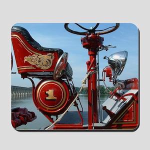 Red fire truck seat shot 2 Mousepad
