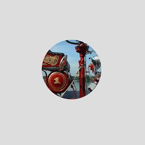 Red fire truck seat shot 2 Mini Button