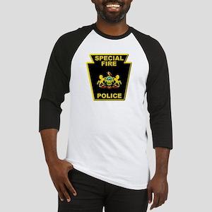 Fire police badge Baseball Jersey