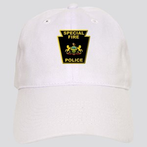 Fire police badge Cap