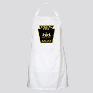 Fire police badge Apron