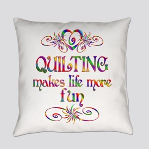 Quilting More Fun Everyday Pillow