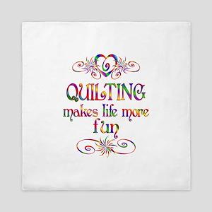 Quilting More Fun Queen Duvet