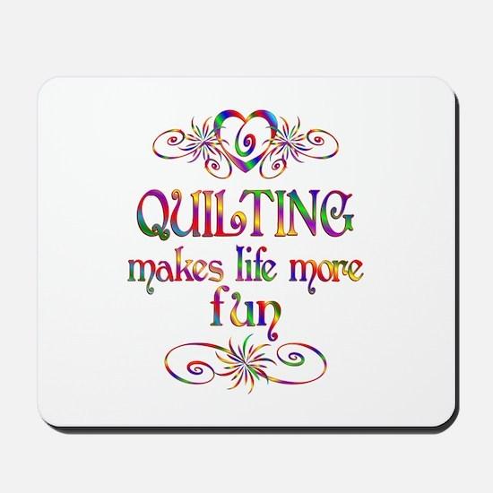 Quilting More Fun Mousepad