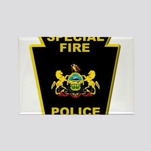 Fire police badge Magnets