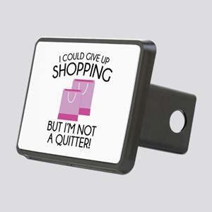 I Could Give Up Shopping Rectangular Hitch Cover