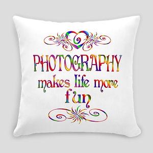 Photography More Fun Everyday Pillow