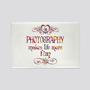 Photography More Fun Rectangle Magnet
