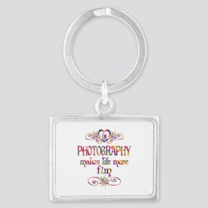 Photography More Fun Landscape Keychain
