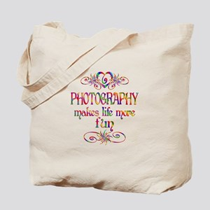Photography More Fun Tote Bag