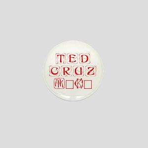 Ted Cruz 2016-Kon red 460 Mini Button