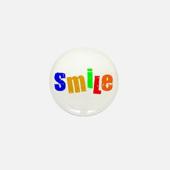 Scott Designs Smile Mini Button