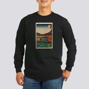 JAPANESE PRINT OF EDO 2 Long Sleeve T-Shirt