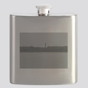 Asateague lighthouse distant shot Flask