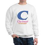 Cincinnati Is Fantastic Sweatshirt (white)