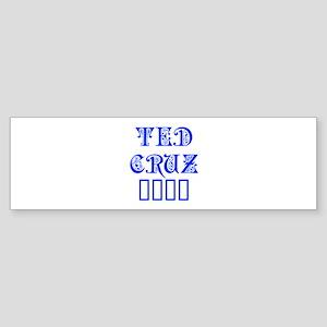 Ted Cruz 2016-Pre blue 550 Bumper Sticker