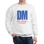 Des Moines Is Fantastic Sweatshirt (white)