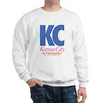 Kansas City Is Fantastic Sweatshirt (white)