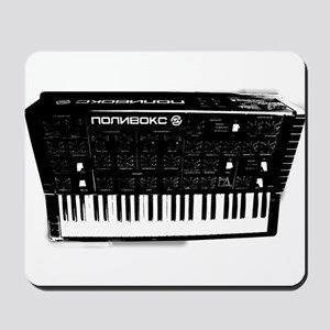 Polyvox Soviet Electronic Analog synthes Mousepad