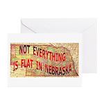 Flat Nebraska Greeting Cards (Pk of 10)