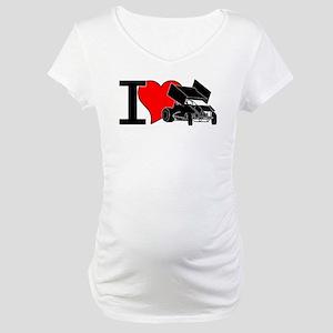 iHEARTsprints Maternity T-Shirt