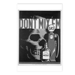 Don't Mix Them-Gas & Whiskey Postcards (Package of