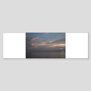 Delaware beach sunrise Bumper Sticker