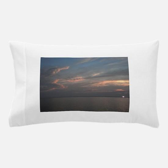 Delaware beach sunrise Pillow Case