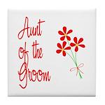 Bouquet Groom's Aunt Tile Coaster