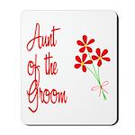 Bouquet Groom's Aunt Mousepad