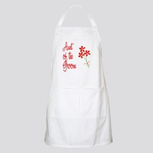 Bouquet Groom's Aunt BBQ Apron