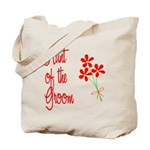 Bouquet Groom's Aunt Tote Bag